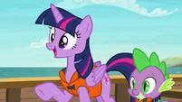 Twilight Sparkle --even long time friends need-- S6E22