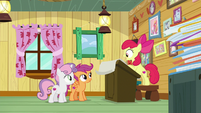 "Apple Bloom ""they like dangerous creatures"" S9E12"