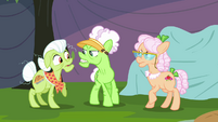 Applesauce angry with Granny and Rose S3E8