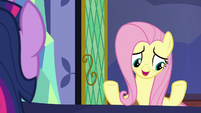 """Fluttershy """"book on ancient Equestrian healers"""" S7E20"""
