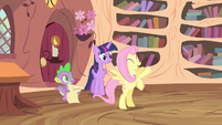 Fluttershy 'it just might be the best news ever!' S4E11