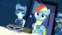 Rainbow acknowledging Spitfire S3E7