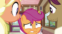 Scootaloo looks at her parents with worry S9E12