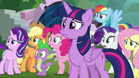 Twilight and friends in shock and despair S8E1