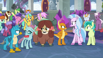 Young Six suspicious of Cozy Glow S8E25