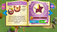 Emerald Green album page MLP mobile game