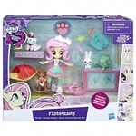 Equestria Girls Minis Fluttershy Pet Spa packaging