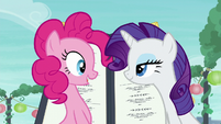 Pinkie --We're so close to the pouch store!-- S6E3