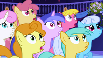 Ponies staring at Nightmare Moon S1E01