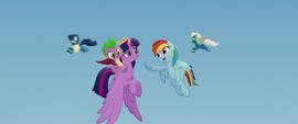 Rainbow singing -you got this- to Twilight MLPTM