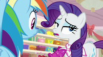 """Rarity """"they're practically already out"""" S8E17"""