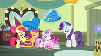 Rarity -quite certain it came out just so- S4E19