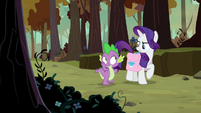 Rarity getting very annoyed at Spike S8E11