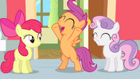 Scootaloo thrilled -I'm in!- S4E05
