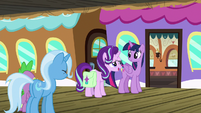 "Starlight ""we'll take good care of the castle"" S7E2"