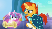 Sunburst --it's possible they've come for the baby-- S6E16