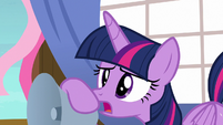 "Twilight Sparkle ""what did you say?"" S7E22"