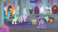 Twilight greeting the Young Six S9E3