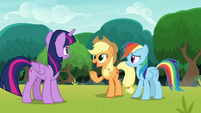 """Applejack """"give us another chance"""" S8E9"""