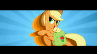 Applejack ready to get the dragon S1E7