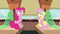 """Fluttershy """"what zone Rainbow Dash is talking about"""" S6E18"""