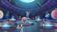 Interior shot of Canterlot City Planetarium EGDS7