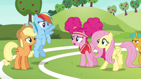 """Pinkie """"practice was supposed to make us better"""" S6E18"""