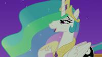 """Princess Celestia """"easier than raising the sun"""" S7E10"""