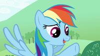 "Rainbow ""tells us you like games"" S4E18"