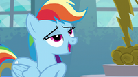 """Rainbow Dash """"Forthright Filly"""" S6E7"""
