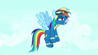 Rainbow Dash groaning in frustration S8E18