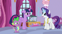 """Rarity """"the effect will be dazzling"""" S9E26"""