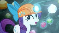 Rarity --for once I wish unicorn magic-- S6E5