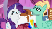 Rarity deeply upset with Zephyr Breeze S6E11.png