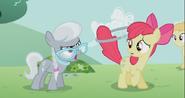 S02E06 Silver Spoon krzyczy na Apple Bloom