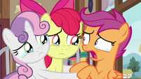 "Scootaloo ""end of the Cutie Mark Crusaders!"" S9E12"