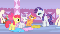 Scootaloo does not enjoy the story S1E23