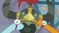 Smolder and Ocellus record Helm of Yickslur S8E15