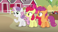 """Sweetie Belle """"an awful long way for a pony to go"""" S7E8"""