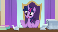 "Twilight Sparkle ""if that means hiring"" S9E20"