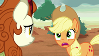 "Applejack ""vow of silence?"" S8E23"