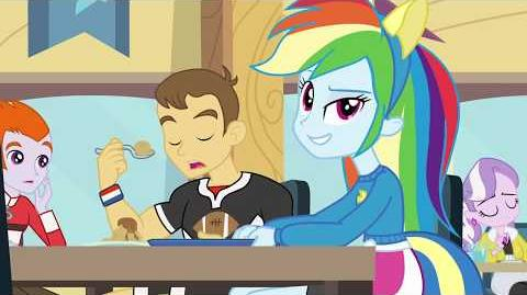Equestria Girls Cafeteria Song International Versions My Little Pony Friendship Is Magic Wiki Fandom