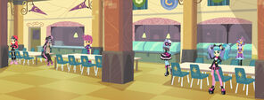 Equestria Girls V.I.F. - cafeteria layout right