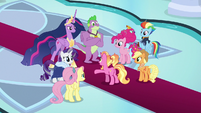 Luster meets the Council of Friendship S9E26