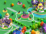 Queen Chrysalis in MLP Gameloft game