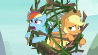 """Rainbow Dash """"I can't get out!"""" S8E9"""