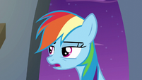 """Rainbow Dash """"fell into a garbage can"""" S6E7"""