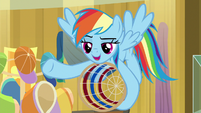 "Rainbow Dash ""give it a shot"" S9E6"