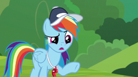 """Rainbow Dash """"why are you here?"""" S9E15"""
