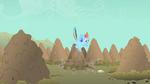 Rainbow Dash mane flow S1E19